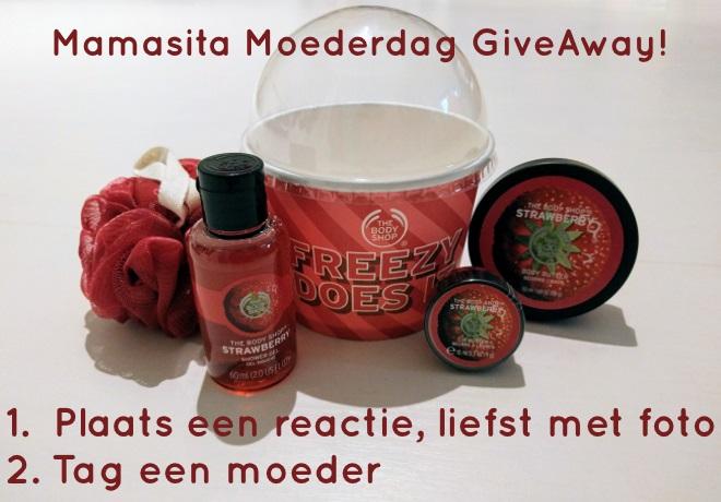 Mamasita Moederdag GiveAway!